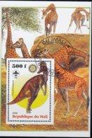 Block  Prähistorische Tiere - Fantasie Vignetten