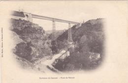 CPA 03 @ Pont Viaduc De ROUZAT (Gustave Eiffel) Chemin De Fer Commentry Gannat Entre Bègues Et Saint Bonnet De Rochefort - France