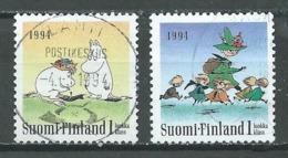 Finlande YT N°1202/1203 Journée D'amitié Oblitéré ° - Finlande