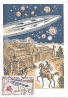 PARIS PREMIER JOUR PHILATEC 5 Juin 1964 Sur Carte. Cote 30€ - Marcophilie (Lettres)