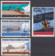 ISOLE COMORE - 1987 - Serie Completa Di 4 Valori Usati: Yvert Posta Aerea 247/250. - Isole Comore (1975-...)