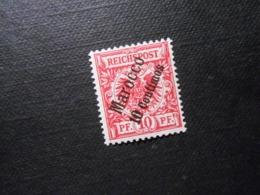D.R.Mi 3a*MLH - (geprüft Jäschke) - Deutsche Auslandspostämter ( MAROKKO ) 1899 - Mi 12,00 € - Deutsche Post In Marokko