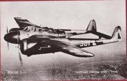 Fokker G-1 Jachtkruiser Aanvalsjager Chasseur Lourd Jagdflugzeug Vliegtuig Avion Airplane  Fighter Aircraft - 1939-1945: 2ème Guerre
