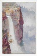 Katoomba Falls, Blue Mountains - Fullwood - Tuck Oilette 7355 - Australia