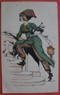 MOUTON G. ILLUSTRATEUR JUPE CULOTTE - Femme, Charme, Mode, Chapeau - Other Illustrators
