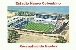 STADIUM POSTCARD ESTADIO STADION STADE STADI HUELVA - Stades