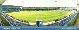 STADIUM POSTCARD STADION STADE ESTADIO STADIO GILLINGHAM - Stades