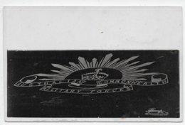 Emblem - Australian Commonwealth Military Forces - Probably Heytesbury Camp (RBAA) - 2 Cards - Australië