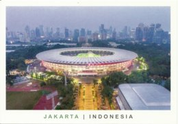 STADIUM POSTCARD STADION STADE ESTADIO STADIO JAKARTA - Stadiums