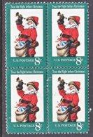 U.S. 1472    **    CHRISTMAS  SANTA  CLAUS - Christmas