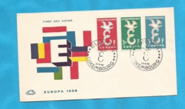 XXIII AKTION AUSFERKAUF LUXEMBURG 1958 EUROPA CEPT  INTERESSANT - 1958