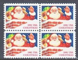 U.S. 2579  Type  II    **    CHRISTMAS  SANTA - Christmas