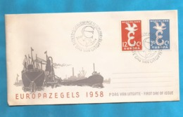XXIII AKTION AUSFERKAUF  HOLAND  1958 EUROPA CEPT  INTERESSANT - Europa-CEPT