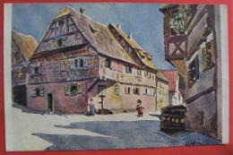 "ILLUSTRATEUR J J WALTZ HANSI "" OBERBRONN "" - Alsace - Hansi"