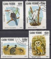 CAPO VERDE - 1981 - Lotto Composto Da 4 Valori USATI: Yvert 450B, 450C, 450D E 450F, Come Da Immagine. - Kap Verde