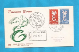 XXIII AKTION AUSFERKAUF  ITALIA 1958 EUROPA CEPT  INTERESSANT - 1958
