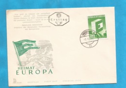 XXIII AKTION AUSFERKAUF  AUSTRIA 1959 EUROPA CEPT  INTERESSANT - 1959