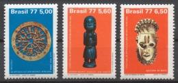 Brazil 1977 Mi# 1578-60** FESTAC '77 WORLD BLACK AND AFRICAN FESTIVAL - Nuevos