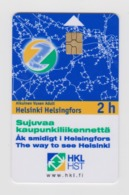 Finland 2-hour Transport Card - Vervoer