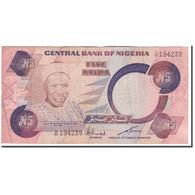 Billet, Nigéria, 5 Naira, KM:24a, B+ - Nigeria