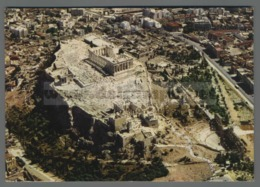 V9418 ATHENS ACROPOLIS FROM THE AIR VG (m) - Grecia