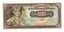 Yugoslavia , 1000 Dinara, 1963. UNC. - Jugoslawien