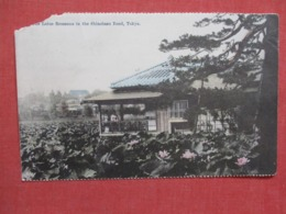 Japan > Tokio Corner Chip=== Has Stamp & Cancel >   Ref   3654 - Tokio