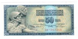 Yugoslavia , 50 Dinara, 1968. XF/aUNC. - Jugoslawien