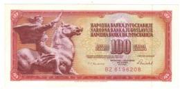 Yugoslavia , 100 Dinara, 1986. AUNC. - Yugoslavia