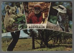 V9452 GREETINGS FROM AUSTRALIA VG (m) - Aborigeni