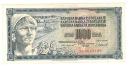 Yugoslavia , 1000 Dinara, 1981. XF. - Yugoslavia