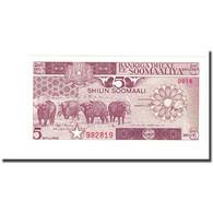 Billet, Somalie, 5 Shilin = 5 Shillings, 1987, KM:31c - Somalia