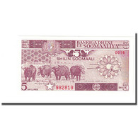 Billet, Somalie, 5 Shilin = 5 Shillings, 1987, KM:31c - Somalië