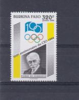 Burkina Fasso 1994 International Olympic Comitte 100 Years MNH/** (H54) - Giochi Olimpici