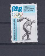 Burundi 1994 International Olympic Commitee 100 Years MNH/** (H54) - Giochi Olimpici