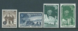 Australian Antarctic Territory AAT 1959 Set Of 4 MNH - Australian Antarctic Territory (AAT)