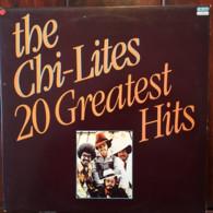 * 2LP *  THE CHI-LITES - 20 GREATEST HITS (Holland 1978 EX-) - Soul - R&B