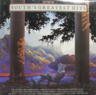 * LP *  SOUTH' S GREATEST HITS - ALLMAN BROTHERS , ELVIN BISHOP, DR. JOHN, OUTLAWS A.o. - Hit-Compilations