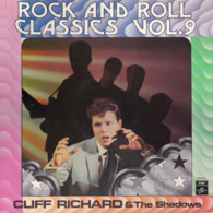 * LP *  CLIFF RICHARD & THE SHADOWS - ROCK AND ROLL CLASSICS VOL>9 (Holland EX/VG+) - Rock