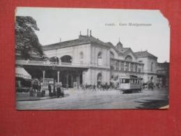 France > [75] Paris   Train Station  Corner Chip  Ref   3654 - Other