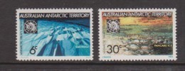 Australian Antarctic Territory 1971 Treaty Ice & Snow Formations Set 2 MNH - Unused Stamps