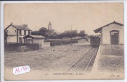 CONDE-SUR-VIRE- LA GARE- LES QUAIS- L EGLISE - France