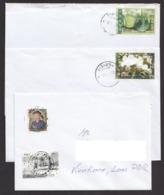 Laos 2013 3 X Domestic Letter Laos - Laos