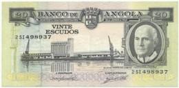 Angola - 20 Escudos - 10.06.1962 - Pick 92 - Série 2 SI - Américo Tomás - PORTUGAL - Angola