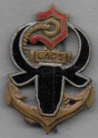 Forces Françaises Au Laos - Insigne émaillé Drago Paris Déposé 512 - Esercito