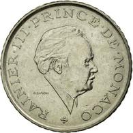 Monnaie, Monaco, Rainier III, 2 Francs, 1981, TTB, Nickel, Gadoury:MC 151 - Mónaco