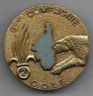 Légion - 2e RE  - 6e Compagnie G.O.L.E. - Insigne   Drago Paris R82 - Heer