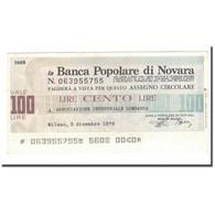 Billet, Italie, 100 Lire, 1976, 1976-12-03, TTB - [10] Checks And Mini-checks