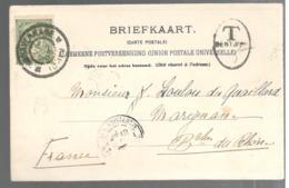 22931 - De GRAVENHAGE Et Taxée - Periode 1891-1948 (Wilhelmina)