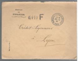 22932 - PARIS BUREAU COURRIER OFFICIEL - Marcophilie (Lettres)